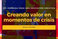 La dirección del Instituto Ikeda participa en la VIII Jornada para una Educación Creativa