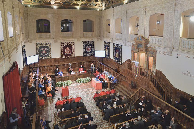 """""""Un gran océano de sabiduría, conciencia ética y creatividad"""": Mensaje en aceptación del doctorado honoris causa por la UAH"""